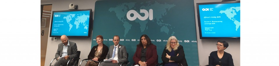 Conference ODI Africa's rising debt