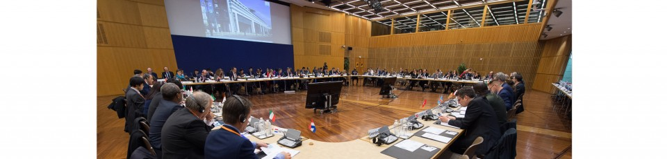 The Paris Forum kicks off reflections on operational guidelines for the sustainable financing of development. Picture by A Salesse