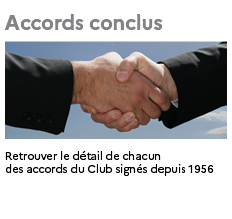 Accords conclus