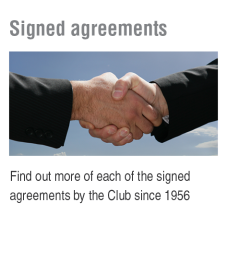 signed agreements